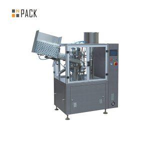 Màquina industrial de segellat per omplir tubs de plàstic industrial per a cosmètics