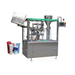 Màquina automàtica de farciment i segellat de tubs de pomada suau automàtica