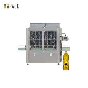 Màquina automàtica d'ompliment de líquids i oli de cuina horitzontal