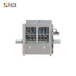 Màquina automàtica d'ompliment de pistons lineals per a oli essencial