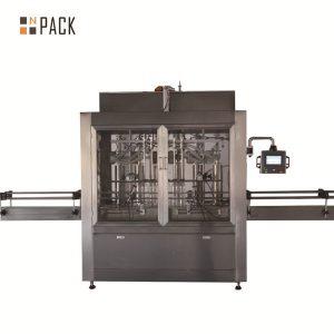 Màquina de farciment de líquids de pistó volumètric pneumàtic de dos caps