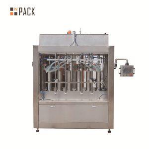 Màquina automàtica d'ompliment de líquids amb salsa de tomàquet volumètrica