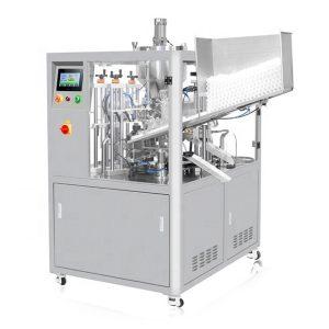Màquina de farciment de tubs cosmètics de segellat per ultrasons