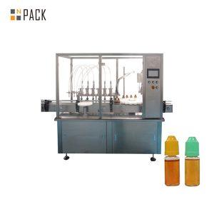 Màquina per omplir líquids per bombes peristàltiques per a ampolles petites