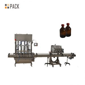 Màquina automàtica per omplir oli lubricant / lubricació d'alta precisió