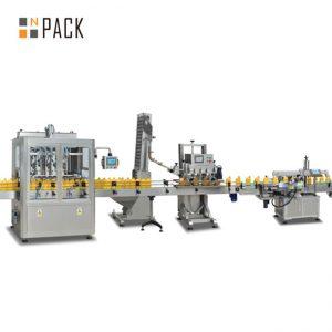 màquina d'ompliment de pistons de melmelada, màquina automàtica d'ompliment de salsa calenta, línia de producció de salsa de chili