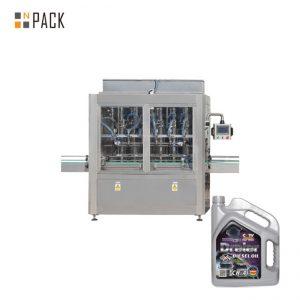 Màquina de farciment de pastes de mel melat de pistó pneumàtic de cap de sol 5-5000 ml per ampolla de líquid