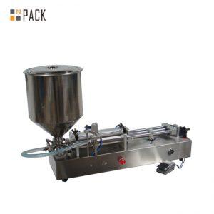 Molt popular màquina d'omplir gelats / màquina de farciment de dos caps / màquina de farcit d'esmalts