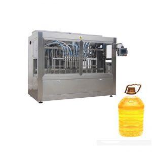 Màquina automàtica per emplenar oli comestible complet de mostassa de palma