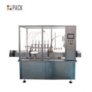 màquina de farciment i tapatge d'ampolles de flascó d'àcid hialurònic