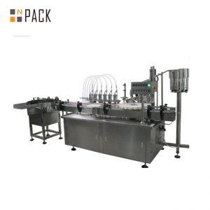 Maquinària per omplir ampolles de líquid de 10ml i 60ml